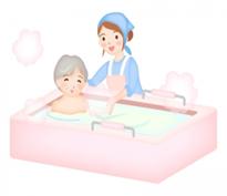 清拭・手浴・足浴慢性疾患、身体機能の低下等で廃用症候群を予防する為、リハビリと協力し看護・介護を提供しています。