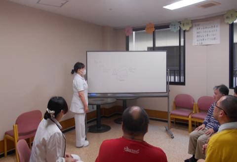 看護の実践に生活技能訓練(SST)を取り入れています。