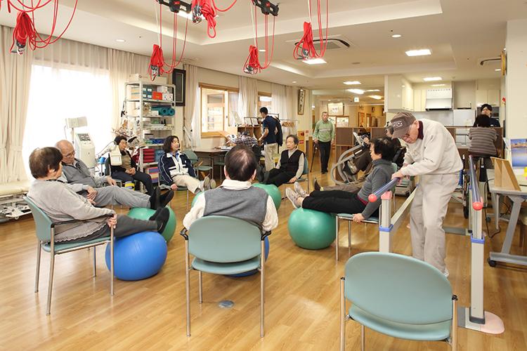専門的な運動指導や体力づくり、認知症予防