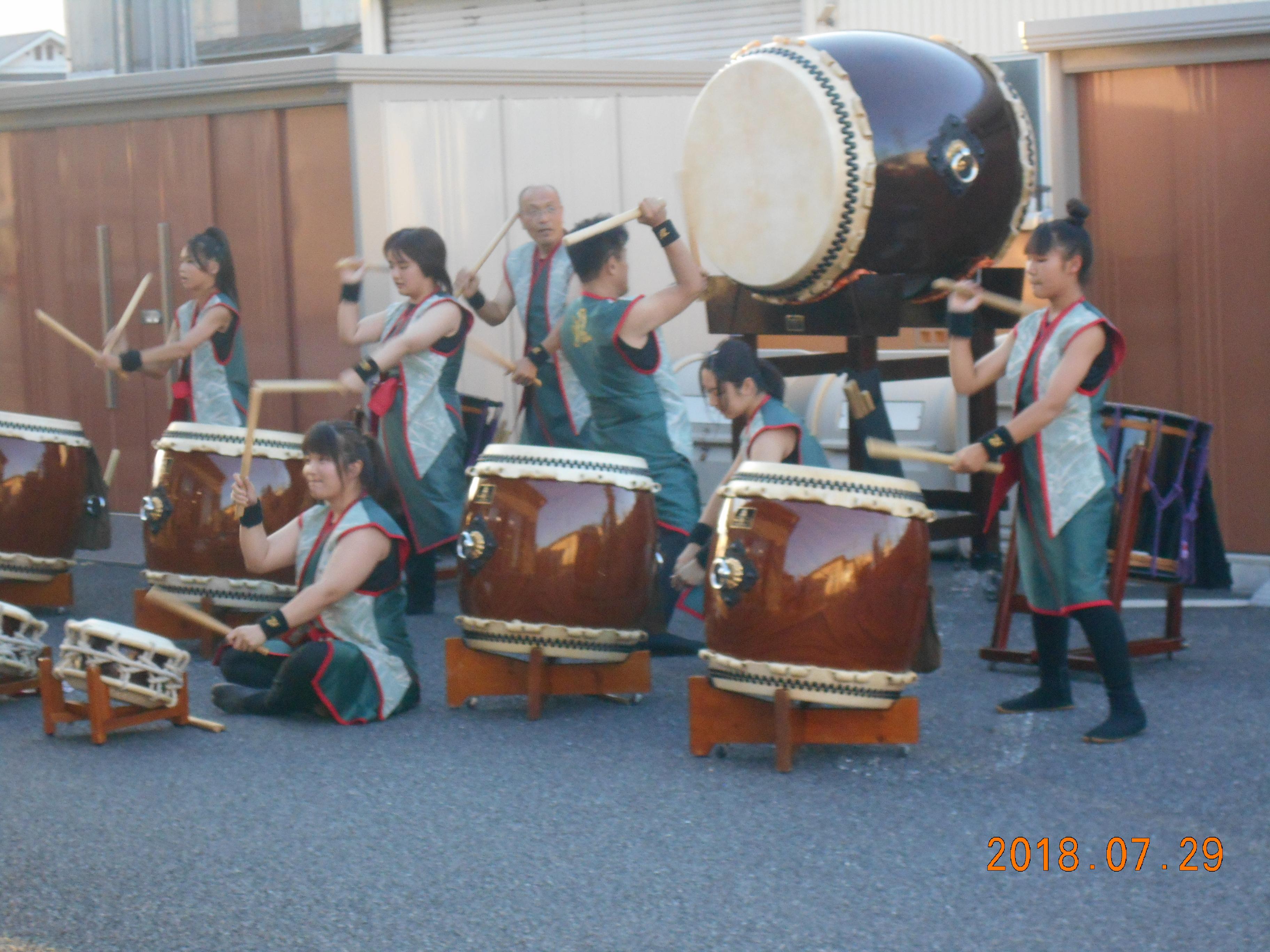 サテライト蜻蛉 夏祭り