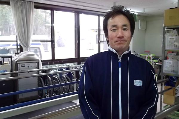 リハビリテーション部 部長 西田 宗幹